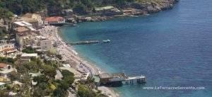 Nerano Marina del Cantone beach