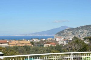 Sorrento, panorama from La Terrazza Vacation Rental