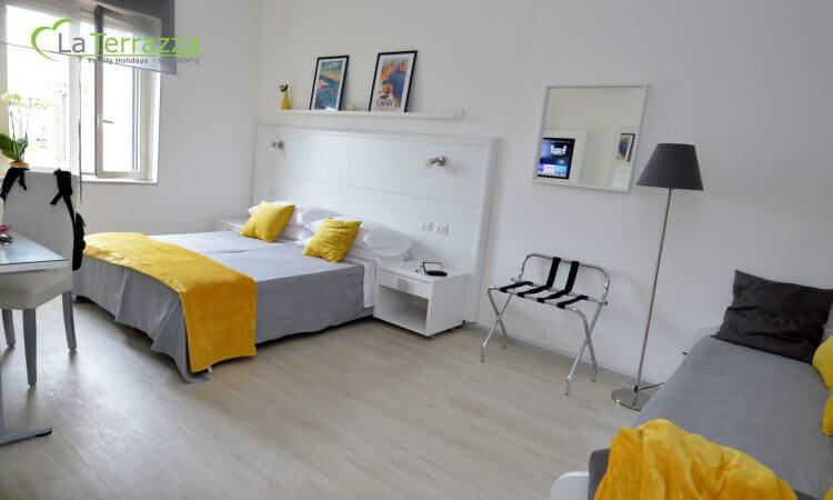 Capri Room at La Terrazza Family House in Sorrento
