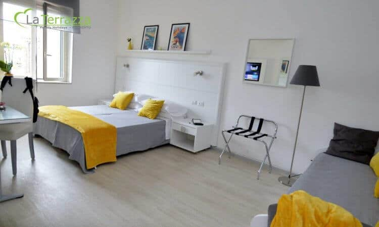 Capri Room - La Terrazza Family Holidays - Sorrento Coast