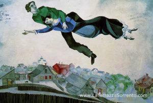Marc Chagall - The colors of the sun - Villa Fiorentino - Sorrento