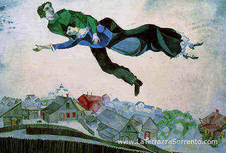 Marc Chagall The colors of the sun