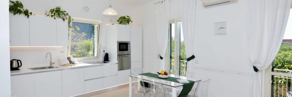 Kitchen Living of La Terrazza Family Holidays, Sorrento