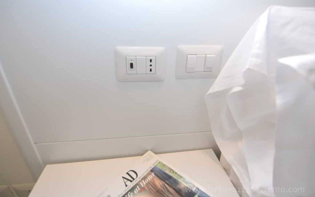 USB Habitación, a La Terrazza Family Holidays a Sorrento