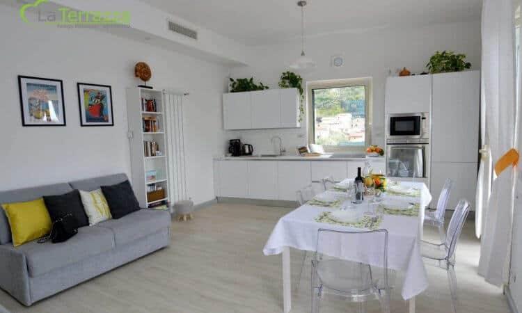 Living Room - La Terrazza Family Holidays - Sorrento Coast