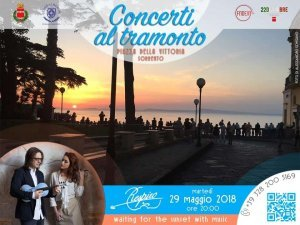 Sorrento, the concerts at sunset