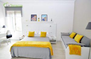 Positano Room - La Terrazza Family Holidays - Sorrento Coast