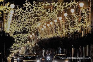 Salerno Christmas light