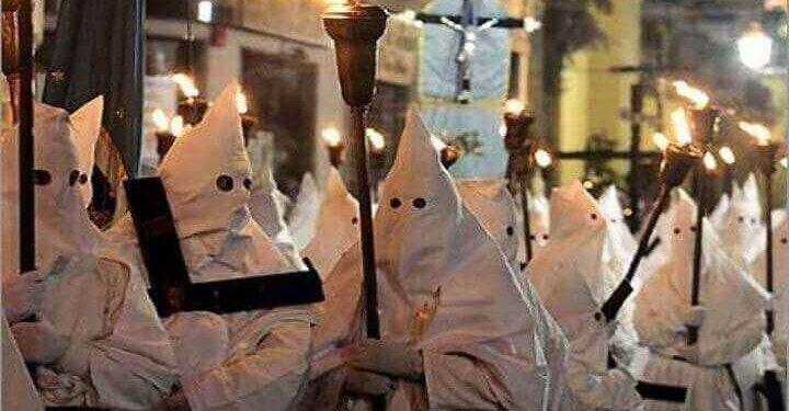 processione bianca sorrento
